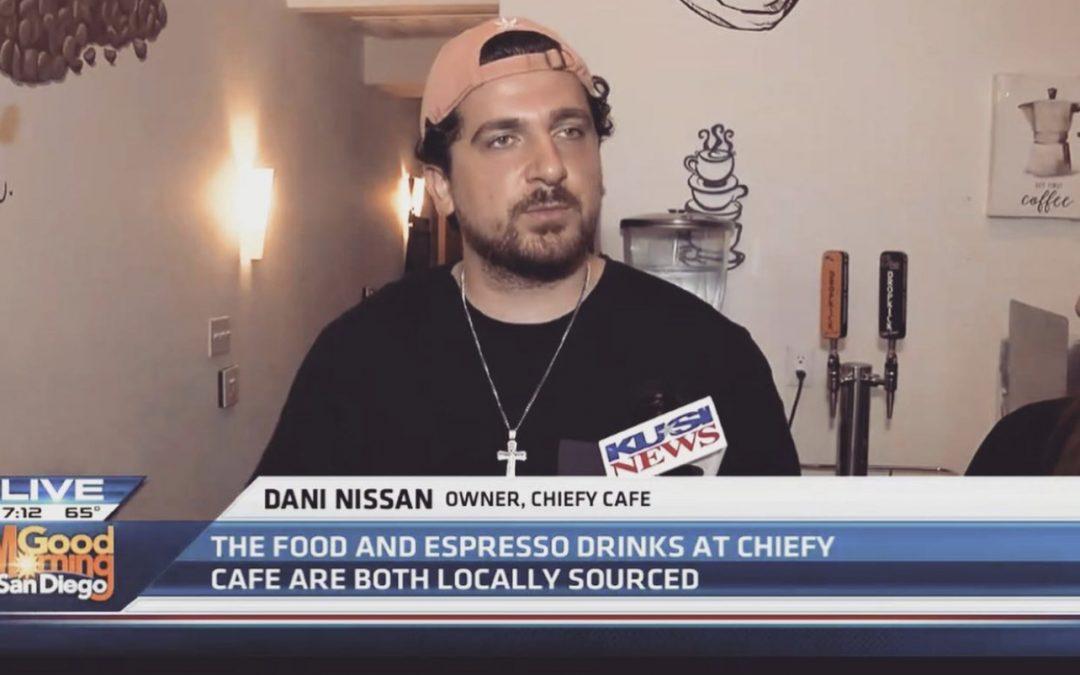 Chiefy Café on KUSI